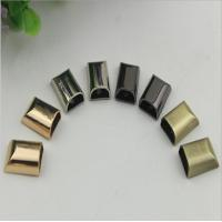 Buy cheap Handbag gold zinc alloy metal cord end clips and stopper with screws product