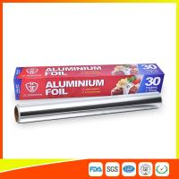 Buy cheap Customized Kitchen Aluminium Foil Roll Food Grade , Aluminium Wrapping Paper product