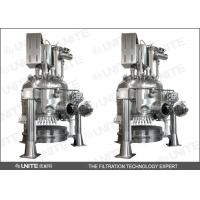 Buy cheap Stainless steel Pharmaceuticals Agitated Nutsche Filter Dryer and drying washing filtering system product