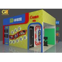 Interactive Motion 5D Movie Theater with 3D Screen / 24
