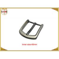 Buy cheap Square Clasp Clip Pin Nickel Color Metal Buckle For Men's Leather Belt product