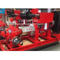 Buy cheap 1500GPM @ 155PSI UL/FM Approval Diesel Engine Drive Fire Pump With Horizontal Centrifugal Split case Fire Pump product