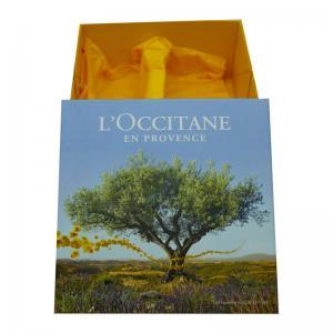 Buy cheap Foldable Cosmetics Rigid Packaging Box Flat Shipped Rigid Paper Box product