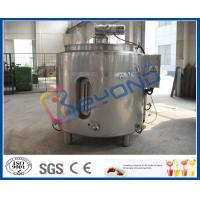 Buy cheap Stainless Steel Chocolate Melting Equipment / Electric Heater Tank 100L - 2000L from wholesalers