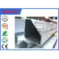 Buy cheap Hollow Tube 5050 Aluminium Frame Profile With Silver Anodizing Surface Treatment product