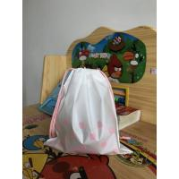 Buy cheap Recyclable Plastic Drawstring Bags ,  Large Gift Bag Drawstring Travel Pouch product