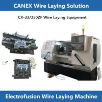 Buy cheap CANEX MACHINERY PRODUCTS FOR MAKING EF FITTINGS AND WIRE LAYING MACHINES electro fusión máquina product