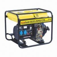 Buy cheap Diesel Power Generator with 50/60Hz Frequency and 12V/8.3A DC Output product