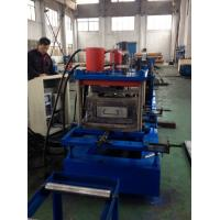 Buy cheap 15 Steps Of Forming  C Purlin Cold Roll Forming Machine High Speed 0-12m/min product