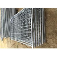 Buy cheap 8ft -16ft Galvanized Metal Temporary Farm Fencing For Livestock Protection product