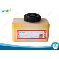 Quality 1.2L Yellow Coding Ink Domino Cartridge IR-261BK Abrasion Resistant for sale