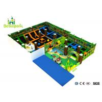 Buy cheap Huge Energy Trampoline Park , Commercial Trampoline Park PP Material Jumping Mat product
