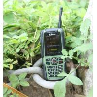 Buy cheap 470HZ li-ion battery powered interphone police walkie talkie with channel lockout product