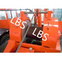 Quality Oil Drilling Equipment Offshore Winch Tractor Hoist Winch / Well Servicing Unit for sale