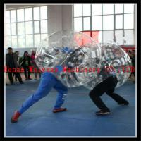 Buy cheap buddy bumper ball for adult inflatable human soccer bubble ball for football product
