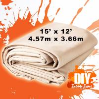 Buy cheap UV Resistance Painters Canvas Drop Cloth , Unbleached Fabric Drop Cloth product