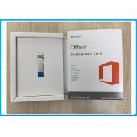 Microsoft Office 2016 Pro Plus Retailbox Oem Key +3.0 USB Flash Online Activation