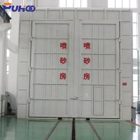 Buy cheap Large Air Volume Shot Blasting Room High Efficiency Environmental Protection product