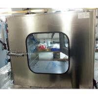 Buy cheap Medical Industrial Stainless Steel Pass Box for Clean Room product