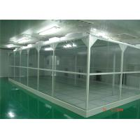 Buy cheap Aluminum Profile 2'X4' FFU ISO 6 Softwall Clean Room product