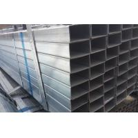Buy cheap S235JR Pre / hot dipped  Galvanized Welded Rectangular / Square Steel Pipe/Tube/Hollow Section/SHS / RHS product