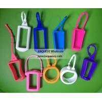 Buy cheap NEW shape silicone hand sanitizer holder, hand sanitizer case product