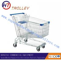 China  Heavy Duty Personal Supermarket Shopping Trolleys Cart Customized 210 L  for sale