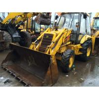 Buy cheap Original Colour Second Hand Wheel Loaders Used Backhoe Loader JCB 3CX product