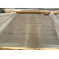 China Flat Clean Surface 6082 Aluminium Plate , Anodized Aluminum Sheet 0.15–350mm Thickness on sale