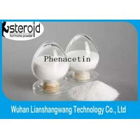 Buy cheap Pain Killer Drug Pharmaceutical Raw Materials Phenacetin Fenacetina CAS 62-44-2 product