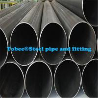 Buy cheap 6 inch astm A53 welded Black  iron  pipe product