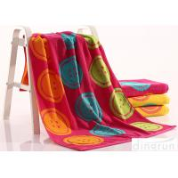 Buy cheap Woven Dye Yarn Organic Cotton Bath Towels Colorful OEM Available product