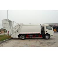 Buy cheap RHD 4X2 Garbage Collection Truck , Commercial Trash Compactor Truck 6CBM product