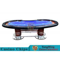 Buy cheap Pea - Type Table Design Custom Casino Craps Table For Poker Casino Games product