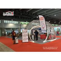 Buy cheap Aluminium Frame Geodesic Domes Construction Tent , Dome Party Tents product