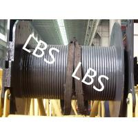 Buy cheap 250KG Small Type Wire Rope Winch Drum  with Lebus Grooving For Crane Area product