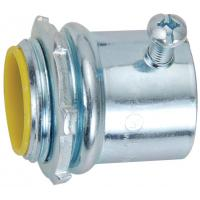Buy cheap 1st Class Watertight Emt Conduit Fittings Yellow Insulated Set Screw Connectors product