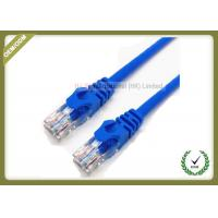 Buy cheap RJ45Cat6U/UTPPatch Network Fiber Cable1.8M 23AWG 0.56mm Copper Pass Test product