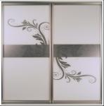 Buy cheap CY-ZG2305A Silvery White Glass Sliding Door For Closet, Custom Modern Aluminum Sliding Glass Doors Factory product
