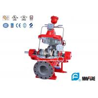 Buy cheap 500GPM@125PSI Ul Listed Split Case Fire Pump For Firefighting , Ductile Cast Iron Casing product