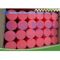 China Solid Core Foam Pool Noodles , Floating Toys Swimming Pool Water Noodles on sale
