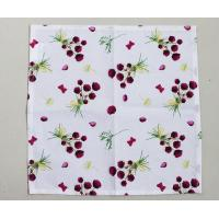 Buy cheap 36 * 38cm Floral Kitchen Dish Towels With High Water And Grease Absorption product