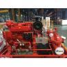 Buy cheap EDJ Diesel Engine Motor and one Jockey Ul/FM Split casing Fire Pump set 500gpm from wholesalers