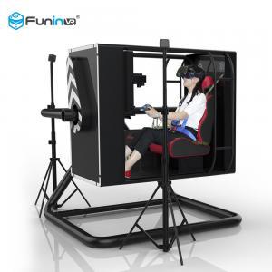 China Indoor Arcade 9D VR Game Machine Virtual Reality Flight Simulator Blue / Black / Yellow on sale