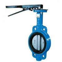 Buy cheap API Metal Seal Butterfly Valve Wafer Type Butterfly Valve With Spline and Pinless product