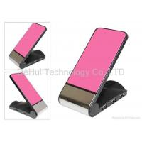 Buy cheap USB Hub Card reader desktop holder/Cradle for mobile phone/Iphone product