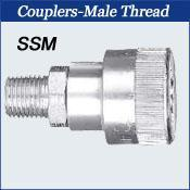 China Schrader Interchange Couplers-Male Thread wholesale