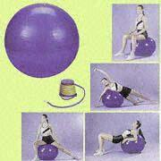 Buy cheap PVC Gymnastic Balls Available in 45, 55, 65, 75 and 85cm product