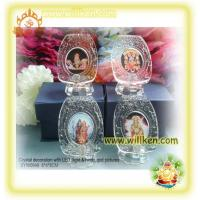 China SYW0948 Crystal gifts with hindu god photo & LED light on sale