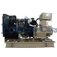 Buy cheap 90 kva cummins diesel generator set 6BT5.9-G1 product